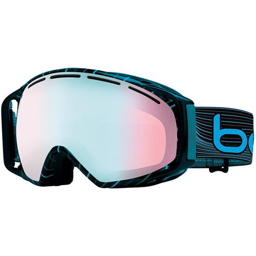 Bolle Gravity Ski Goggle Grey Blue Waves/Modulator Vermillon Blue