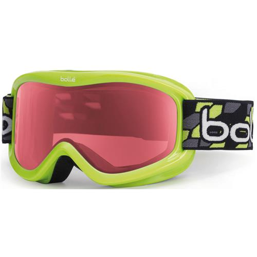 Bolle Volt Goggle for Kids Green Geo/Vermillon