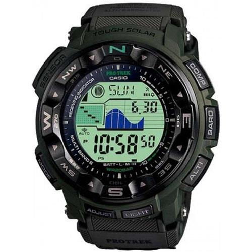 Casio PRW2500B-3 Pro-Trek Watch with Camo Band
