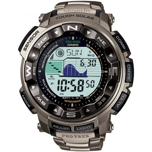 Casio PRW2500T-7 Pathfinder Titanium Watch