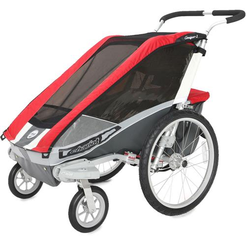 Chariot Carriers Cougar 1 Single Stroller - Chassis and Strolling Ki