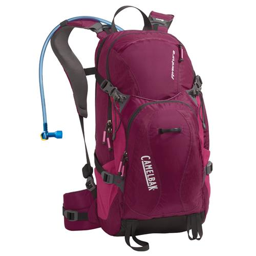 Camelbak Aventura 100 oz Hydration Pack for Women Raspberry Radiance/Fushsia Red