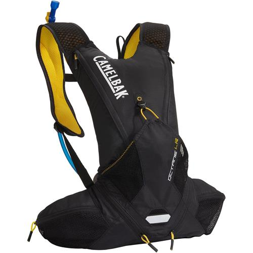 Camelbak Octane LR 70 oz. Hydration Pack Black/Lemon Chrome