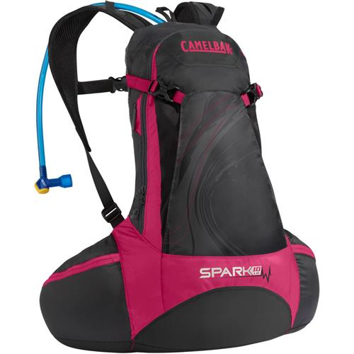 CamelBak Spark 10 LR 70 oz. Hydration Pack Pirate Black/Cerise