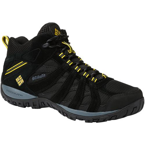 77f43cdf960 Columbia Redmond Mid Waterproof Hiking Wide Boot for Men