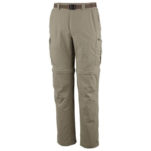 Columbia Silver Ridge Convertible Pant for Men Waist - 38/Inseam - 34 Tusk