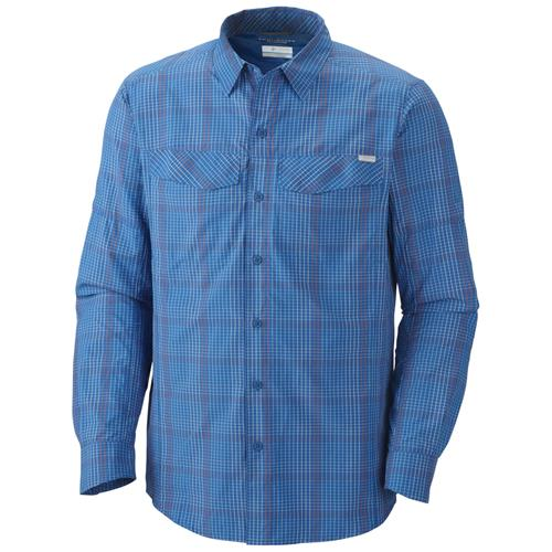 Columbia Silver Ridge Plaid Long Sleeve Shirt for Men