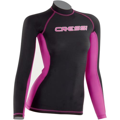 Cressi Girl's Long Sleeve Rash Guard
