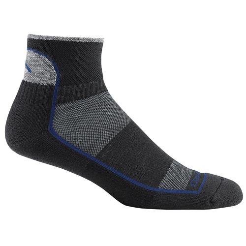 Darn Tough 1/4 Sock Cushion for Men - Run and Bike Series