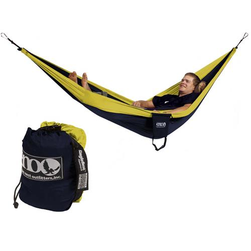 Eagles Nest SingleNest Hammock Navy/Yellow