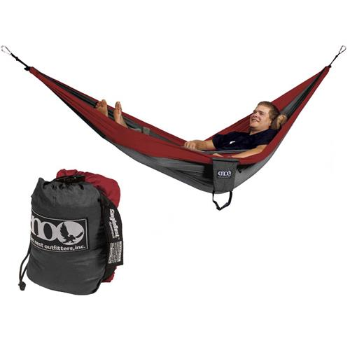 Eagles Nest SingleNest Hammock Red/Charcoal