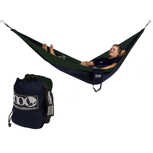Eagles Nest SingleNest Hammock Navy/Forest Green