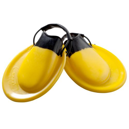 Finis Positive Drive Swim Fins, Yellow/Black Medium (US 3.5-6)