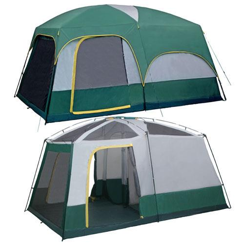 GigaTent Mt. Springer 3-room, 10-Person Tent