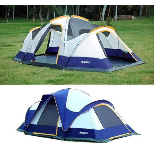 GigaTent Wolf Mountain 8-Person, 3-room Tent