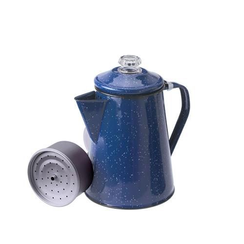GSI Outdoors Enamelware Coffee Percolator - Blue