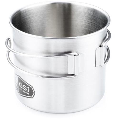 Gsi Outdoors Glacier Stainless Bottle Cup Pot 68214