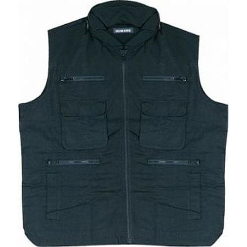 Humvee Ranger Travel Vest Medium Black
