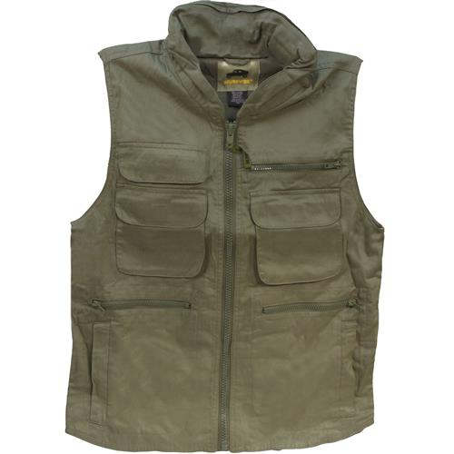 Humvee Ranger Travel Vest Large Olive Drab