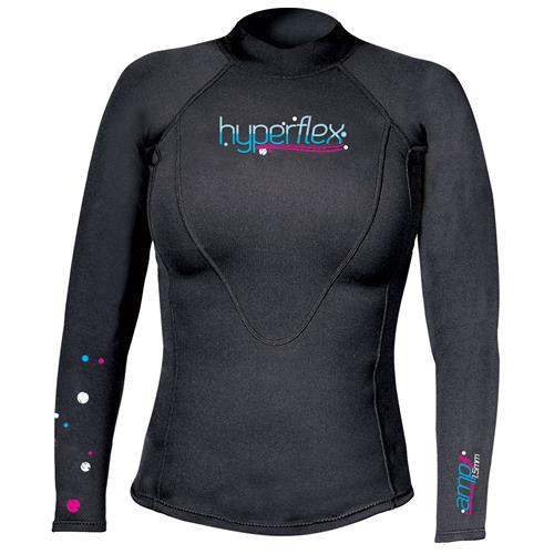HYPERFLEX AMP 3 Series Women's 1.5 mm Pullover Long Sleeve Top