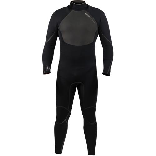 Hyperflex AMP 3 Series 4/3mm Men's Fullsuit Wetsuit, Black
