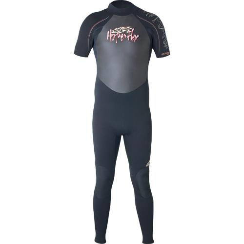 Hyperflex Cyclone Men's 2mm Short Sleeve Full Suit for Water Sports