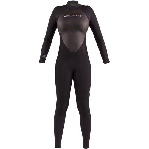 Hyperflex Cyclone2 Women's 4/3 mm Full Suit, Black