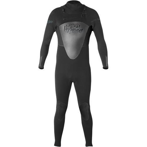 Hyperflex Flow Series 4/3 mm Men's  Full Suit, Black