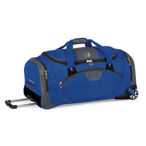 High Sierra A.T.GO 30 in. Wheeled Cargo Duffel Go Blue/Dark Tungsten/Black