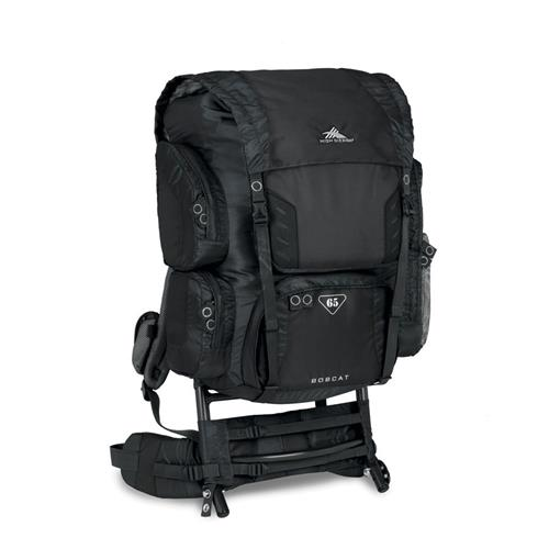 High Sierra Bobcat 65 External Frame Pack Black