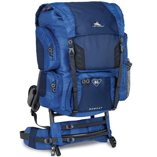 High Sierra Bobcat 65 External Frame Pack Pacific/Nebula