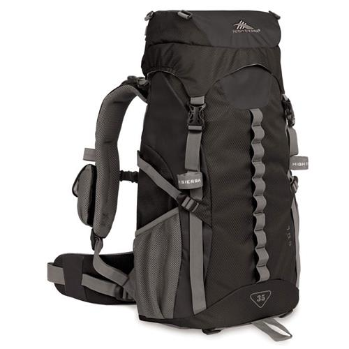 High Sierra Col 35 Backpack Black/Black