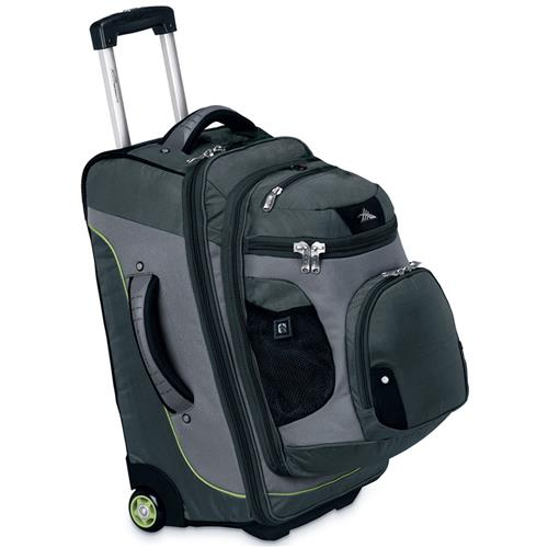High Sierra AT3 Sierra-Lite 22 in. 3-in-1 Carry-On Wheeled Backpack with Removable Daypack