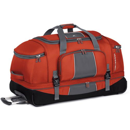 High Sierra Elevate 34 in. Drop-Bottom Wheeled Duffel