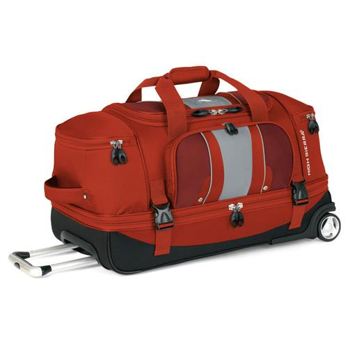 High Sierra Evolution 28 in. Drop-Bottom Wheeled Duffel