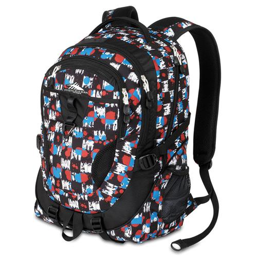 High Sierra Stalwart Daypack Grunge Checker Gr