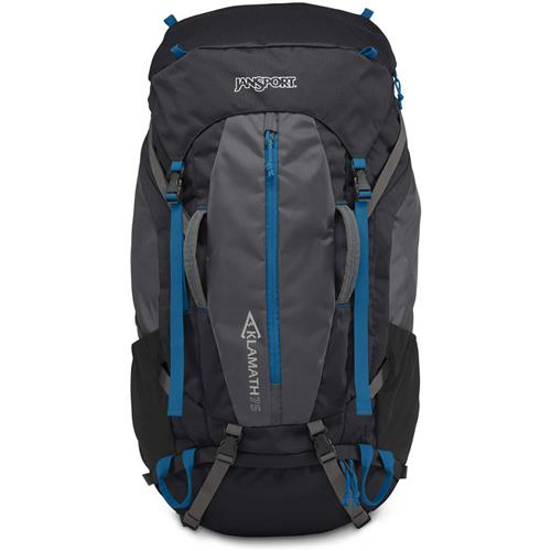 Jansport Klamath 75 Multi-Day Packs - Forge Grey/moroccan Deep 0ooek3mFO4