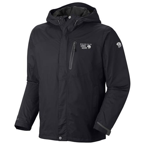 Mountain Hardwear Ampato Jacket for Men X-Large Black/Black
