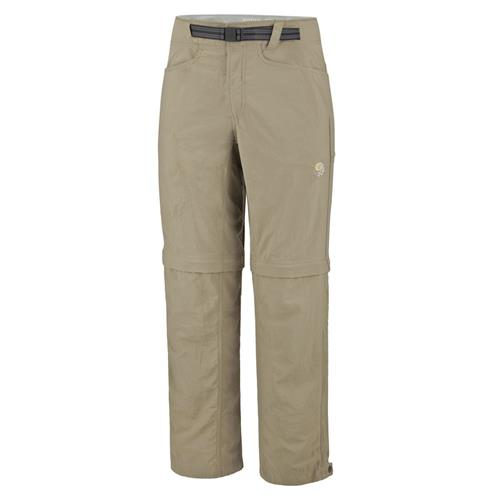 Mountain Hardwear Mesa Convertible Pants for Men Inseam 32 - XX-Large Khaki