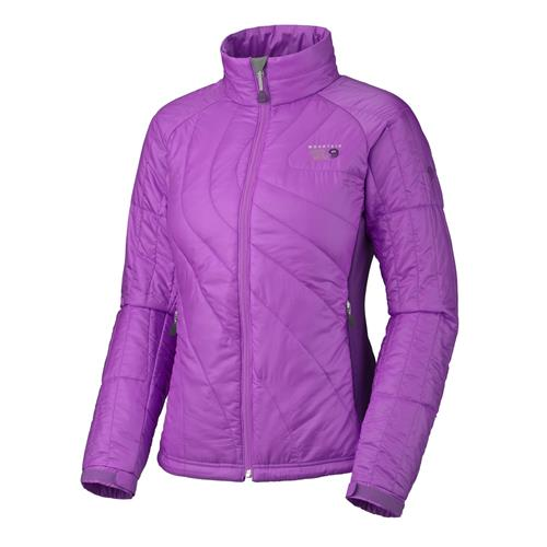 Mountain Hardwear Zonal Insulated Jacket for Women - Fall 2011 Model X-Small Dewberry/Iris Glow