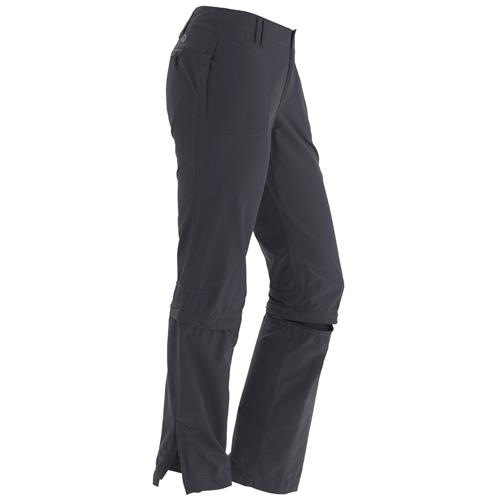Marmot Lobo's Convertible Pants for Women 10 Dark Steel