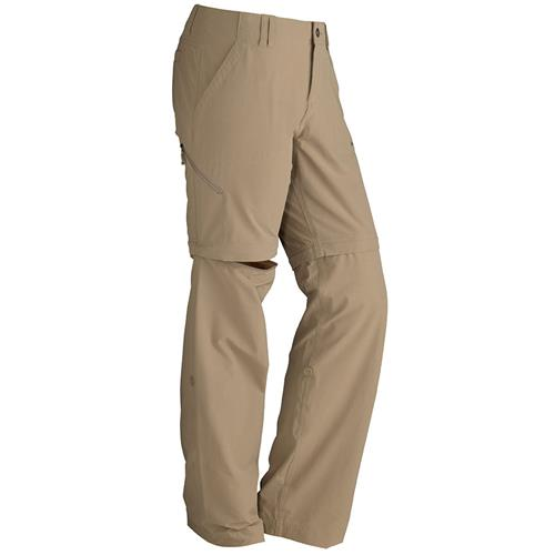 Marmot Lobo's Convertible Pants for Women 8 Desert Khaki