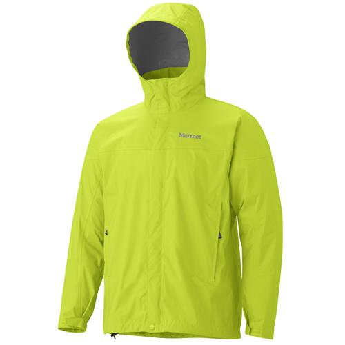 Marmot PreCip Jacket for Men Large Sunset Orange