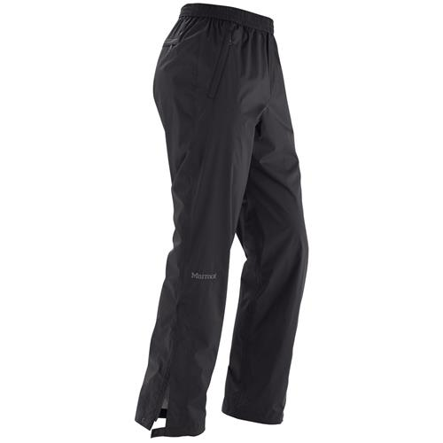 "Marmot PreCip Pants for Men Regular/32"" Inseam - Small Black"