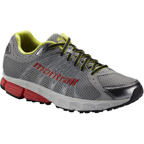 Montrail FluidBalance Trail-Running Shoes for Women 6.5M Grey Ice