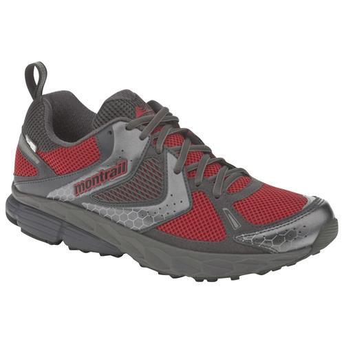 Montrail Fairhaven OutDry Shoes for Men 8M Red/Grill