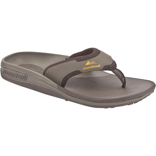 Montrail Lithia Loop Slippers for Men 14M Peat/Pilsner