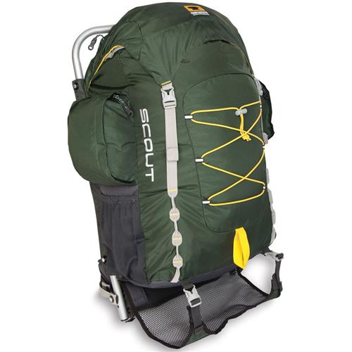 Mountainsmith Youth Scout External-Frame Backpack Evergreen