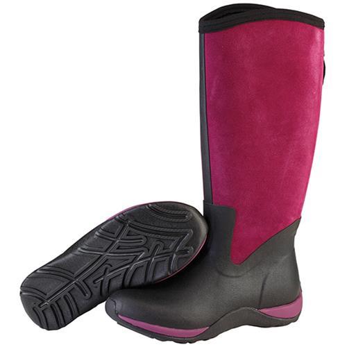 a51fefee8 Muck Arctic Adventure Zip Suede Hi Boot for Women 11 Black / Purple