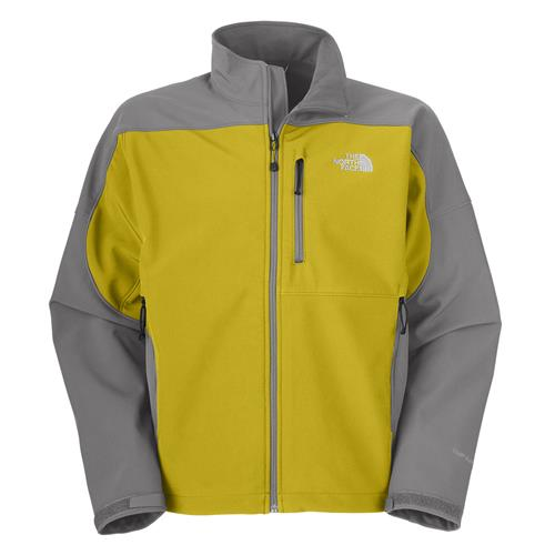 The North Face Apex Bionic Jacket for Men XX-Large Warm Olive Green/Pache Grey
